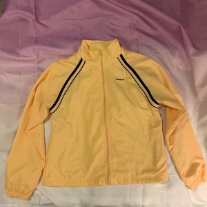 Vintage  Reebok lined windbreaker!